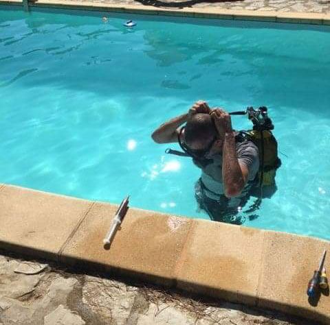 Recherche fuite piscine examen du bassin